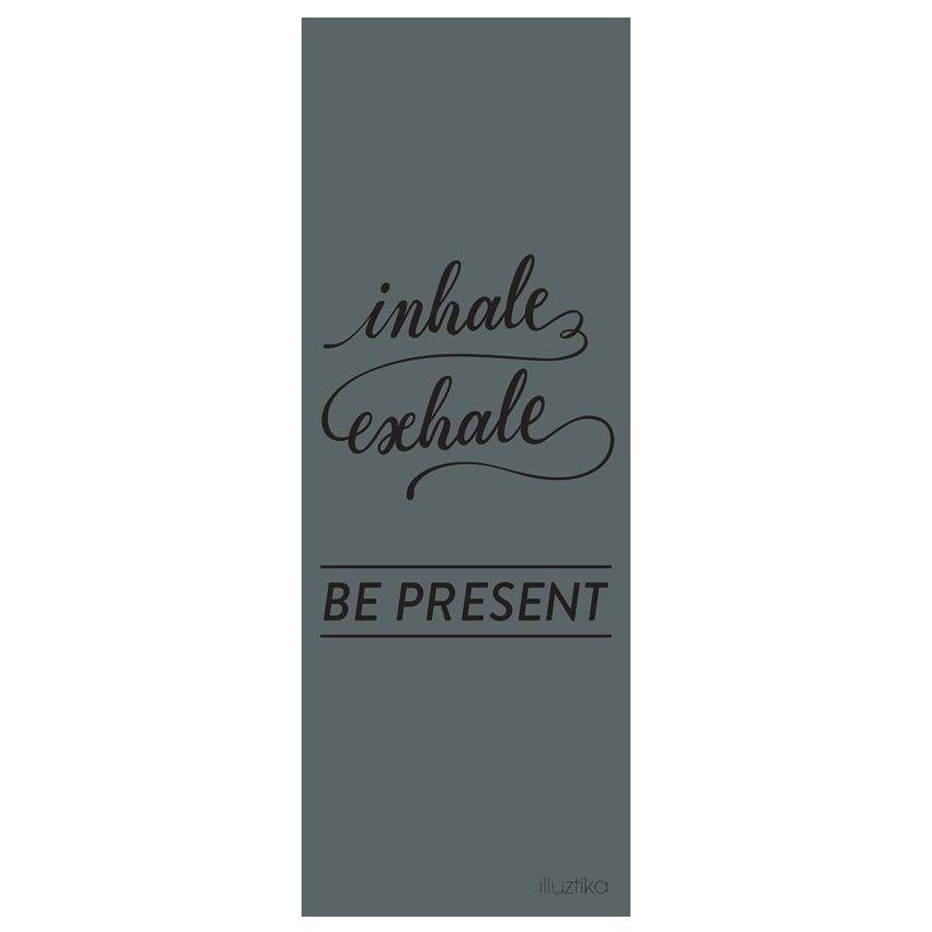 Master Yoga Mat 4mm - Inhale exhale